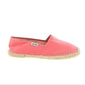 Soludos Espadrilles Bright Peachy Pink Size 11